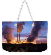 Arizona Power Plant Weekender Tote Bag