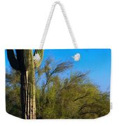 Arizona Saguaro Weekender Tote Bag