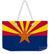 Arizona State Flag Authentic Color And Scale Version Weekender Tote Bag