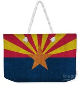 Arizona State Flag Weekender Tote Bag by Pixel Chimp