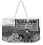 Arizona Tombstone, 1937 Weekender Tote Bag