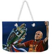 Arjen Robben Weekender Tote Bag by Paul Meijering