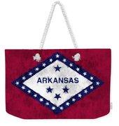 Arkansas Flag Weekender Tote Bag