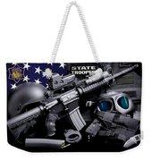 Arkansas State Police Weekender Tote Bag by Gary Yost