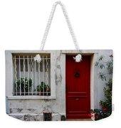 Arles House With Red Door Dsc01806  Weekender Tote Bag