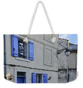 Arles With Bicycle And Moai Dsc01802   Weekender Tote Bag