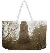 Arlington Street Church Unitarian Universalist Boston Massachusetts Circa 1900 Weekender Tote Bag