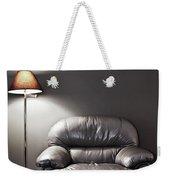 Armchair And Floor Lamp Weekender Tote Bag
