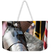 Armored Joust Knight Weekender Tote Bag