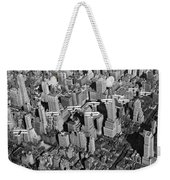 Army Air Corp Over Manhattan Weekender Tote Bag