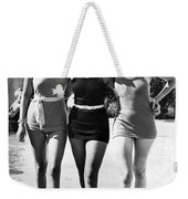 Army Bathing Suit Trio Weekender Tote Bag