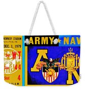 Army Navy 1979 Weekender Tote Bag
