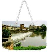 Arno River 1 Weekender Tote Bag