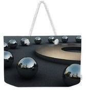 Around Circles Weekender Tote Bag