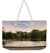 Around The Central Park Pond Weekender Tote Bag