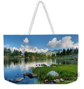 Arpy Lake - Aosta Valley Weekender Tote Bag