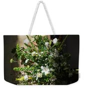 Arrangement Of White Flowers Weekender Tote Bag