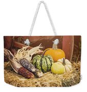 Arrival Of Autumn Weekender Tote Bag