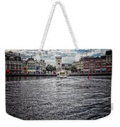 Arriving At The Boardwalk Before The Storm Weekender Tote Bag