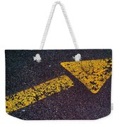 Arrow Weekender Tote Bag