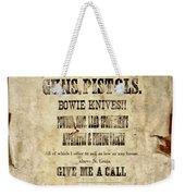 Arrow Rock - Gunsmith Sign Weekender Tote Bag