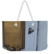 Arrowhead Doorbell Moth Weekender Tote Bag