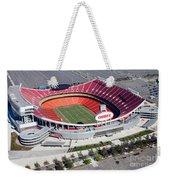Arrowhead Stadium Kansas City Missouri Weekender Tote Bag