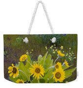 Arrowleaf Balsamroot And Lupine Weekender Tote Bag