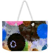 Art Abstract Background 19 Weekender Tote Bag