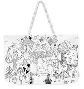 Art Attack Weekender Tote Bag