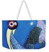 Art Bird Weekender Tote Bag