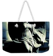 Art Deco Angel Weekender Tote Bag