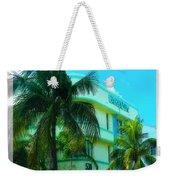 Art Deco Barbizon Hotel Miami Beach Weekender Tote Bag