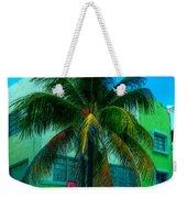 Art Deco Boulevard Hotel Miami Weekender Tote Bag