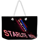 Starlite Hotel Art Deco District Miami 3 Weekender Tote Bag
