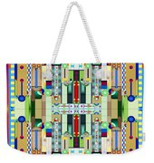 Art Deco Stained Glass 2 Weekender Tote Bag