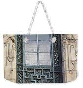 Art Deco Window Weekender Tote Bag
