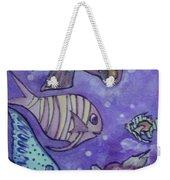 Fish Art Weekender Tote Bag