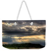 Art For Crohn's Lake Ontario Sun Beams Weekender Tote Bag