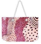 Giraffe Art Weekender Tote Bag