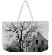 Art Homage Andrew Wyeth Abandoned 1930's Farm House Near Aberdeen South Dakota 1965-2012 Weekender Tote Bag