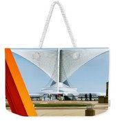 The Milwaukee Art Museum By Santiago Calatrava Weekender Tote Bag