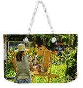Art In The Garden Weekender Tote Bag