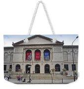 Art Institute West Facade Weekender Tote Bag