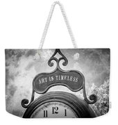 Art Is Timeless Weekender Tote Bag