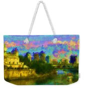 Art Museum Rhapsody Weekender Tote Bag