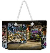 Art Of The Underground Weekender Tote Bag by Heather Applegate