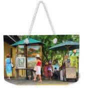 Art Show In San Juan Weekender Tote Bag