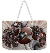 Art With Heart Weekender Tote Bag