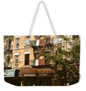 Arthur Avenue In The Bronx Weekender Tote Bag